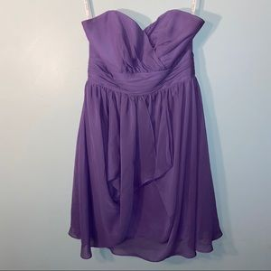 Alfred Angelo Strapless Sweetheart Neckline Size 6